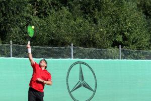 Tennis spielen auf unserer schönen Anlage am Main